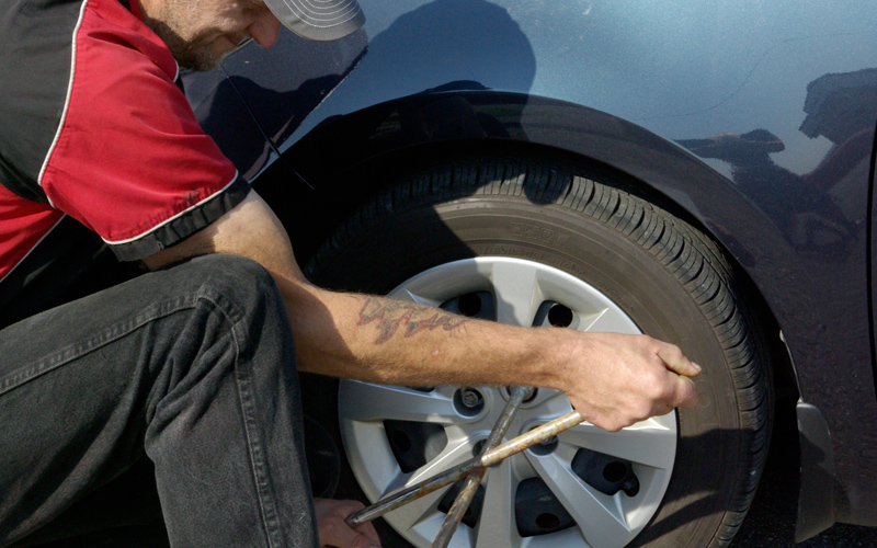 Service de Changement de pneus - Remorquage de l'Estrie